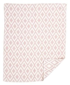 organic-cotton-teppi-diamonds-baby-pink-barnidokkar-is