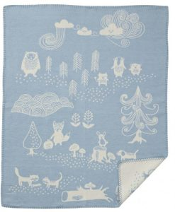 organic-cotton-teppi-little-bear-blue-barnidokkar-is