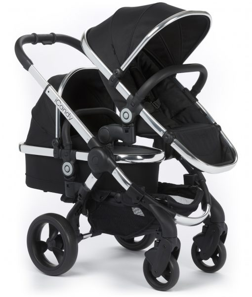 G_Barnidokkar.is iCandy Peach 2016 Pushchair BLACK MAGIC 3-4 R BLOSSOM iCandy29797